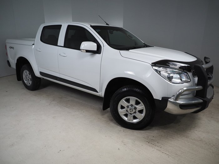 2016 Holden Colorado LT RG MY16 4X4 Dual Range White