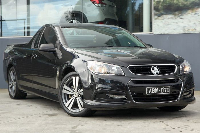 2014 Holden Ute SV6 VF MY14 Black