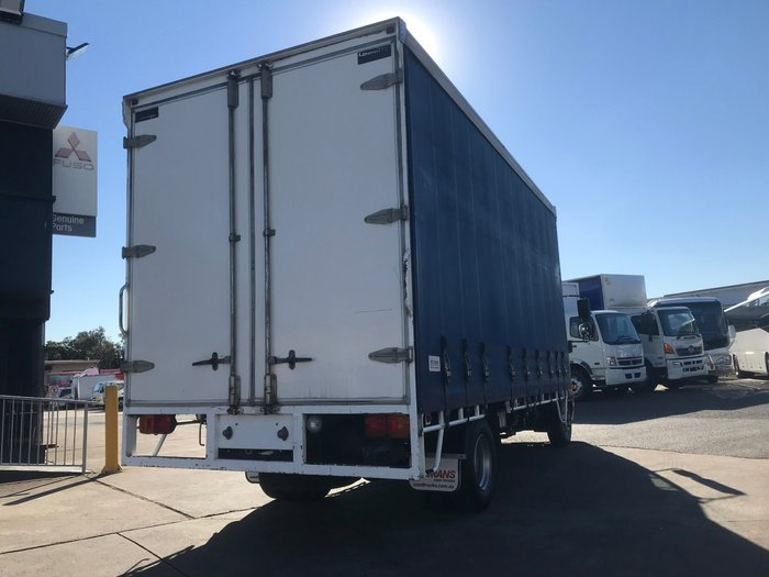 2014 Hino FC 1022-500 Series FC 1022 8 PALLET CURTAINSIDER WHITE