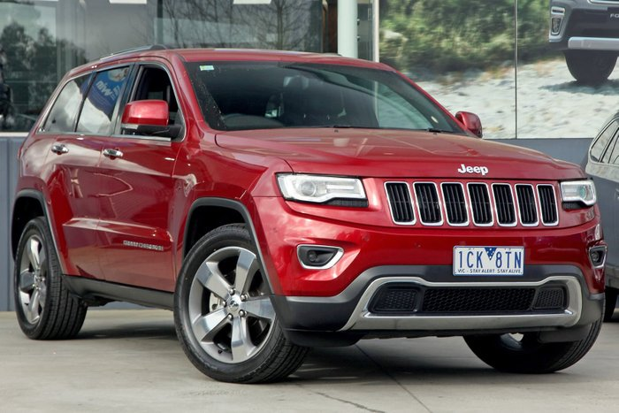 2014 Jeep Grand Cherokee Limited WK MY14 4X4 Dual Range Red