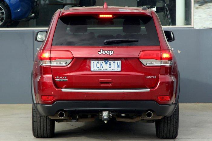 2014 Jeep Grand Cherokee Limited WK MY14 4X4 Dual Range Red