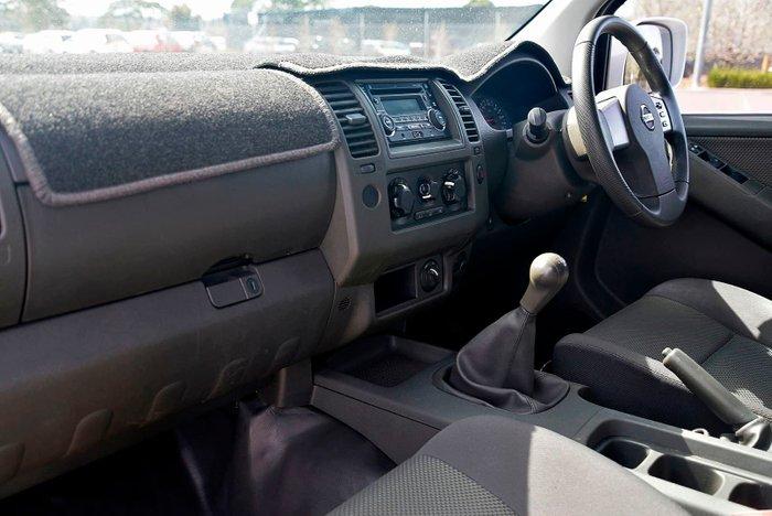 2013 Nissan Navara RX D40 Series 7 4X4 White