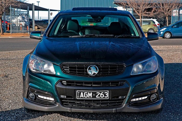2014 Holden Commodore SS V Redline VF MY14 Green