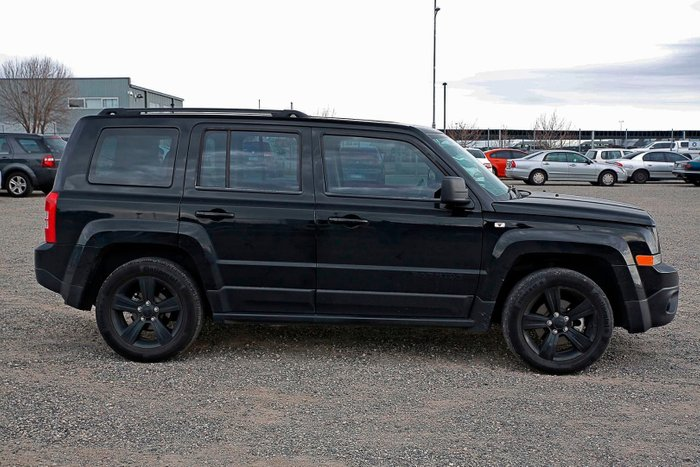 2014 Jeep Patriot Blackhawk MK MY14 Black