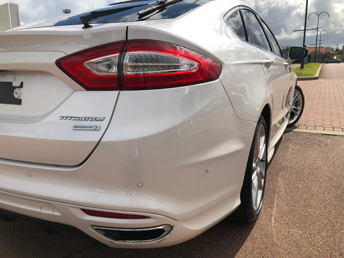 2017 Ford Mondeo Titanium MD MY17.5 White