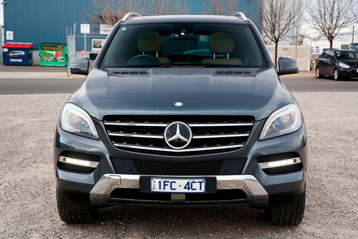 2012 Mercedes-Benz M-Class ML350 BlueEFFICIENCY W166 4X4 Constant Grey