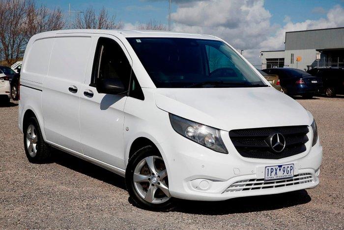 2016 Mercedes-Benz Vito 119BlueTEC 447 White