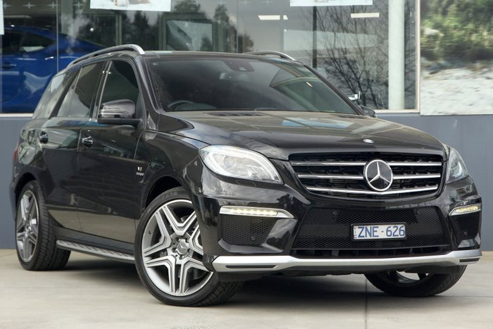 2013 Mercedes-Benz ML63 AMG W166 4X4 Constant Black