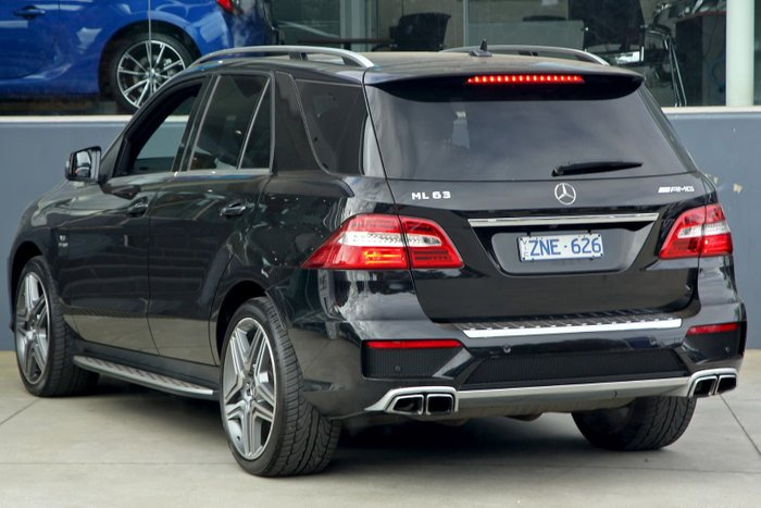 2013 Mercedes-Benz M-Class ML63 AMG W166 4X4 Constant Black