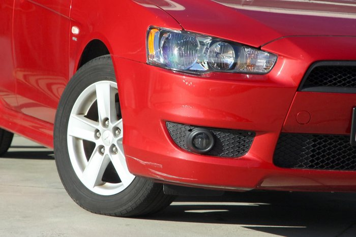 2008 Mitsubishi Lancer VR CJ MY09 Red