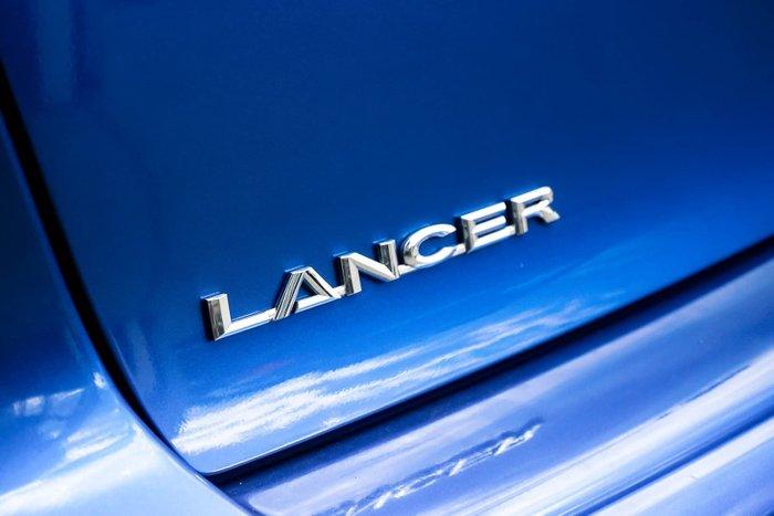 2013 Mitsubishi Lancer ES CJ MY14 Blue