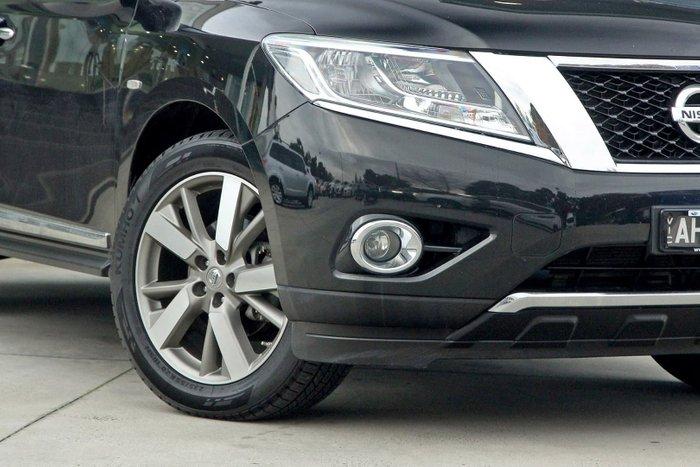 2016 Nissan Pathfinder Ti R52 MY16 Black