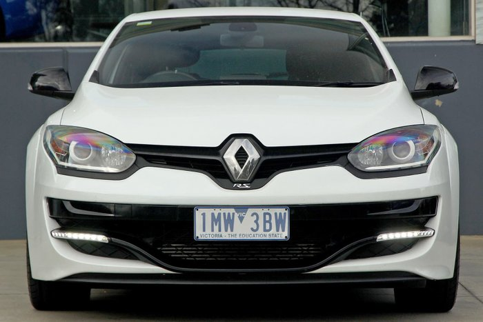 2016 Renault Megane R.S. 275 Cup III D95 Phase 2 White