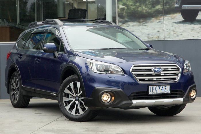2015 Subaru Outback 2.5i Premium 5GEN MY15 Four Wheel Drive Blue