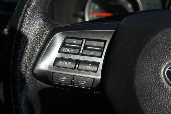 2013 Subaru Impreza 2.0i G4 MY13 Four Wheel Drive Red