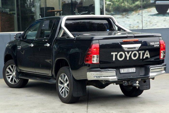 2016 Toyota Hilux SR5 GUN126R 4X4 Dual Range Black