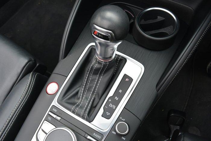 2014 Audi S3 8V MY15 Four Wheel Drive White