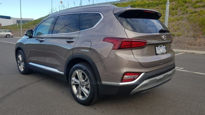 2019 Hyundai Santa Fe Highlander TM MY19 4X4 On Demand Bronze