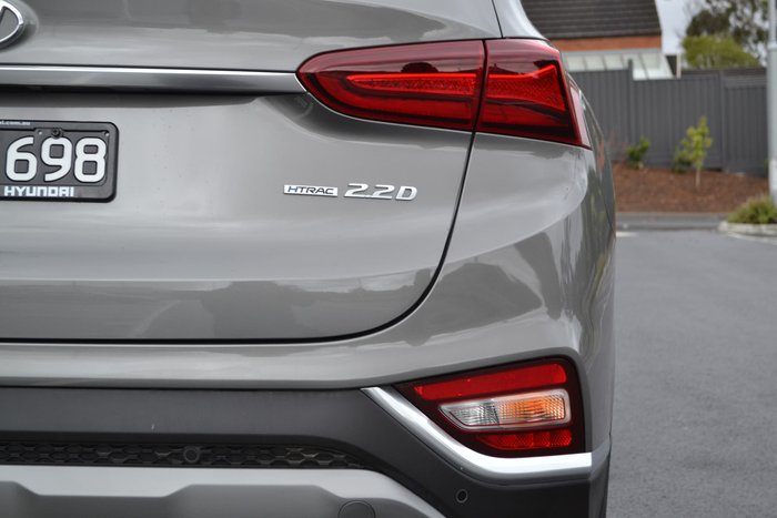 2019 Hyundai Santa Fe Highlander TM MY19 4X4 On Demand Grey