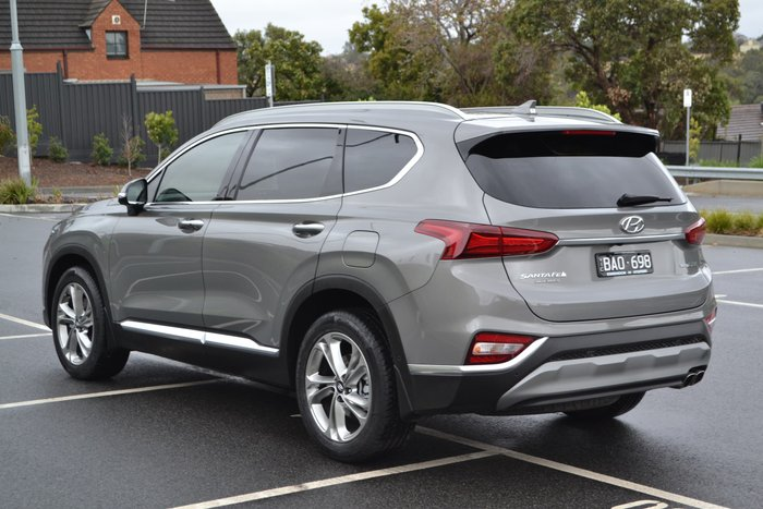 2019 Hyundai Santa Fe Highlander TM MY19 4X4 On Demand Grey
