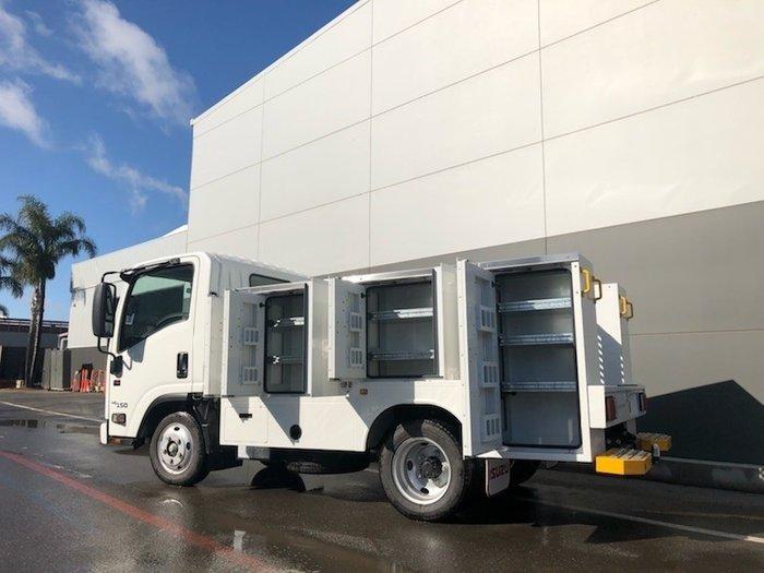 2019 Isuzu NLR 45-150 SWB SERVICEPACK WHITE