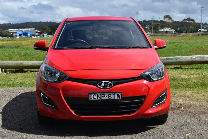 2013 Hyundai i20 Active PB MY13 RED