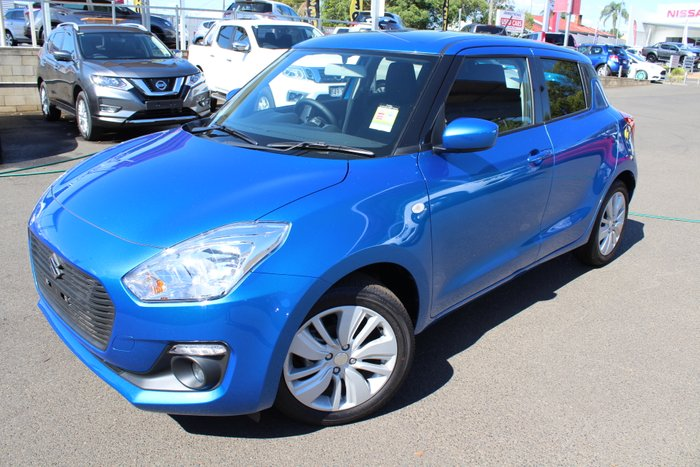 2019 SUZUKI SWIFT GL 1.2L AUTOMATIC HATCH SPEED BLUE METALLIC
