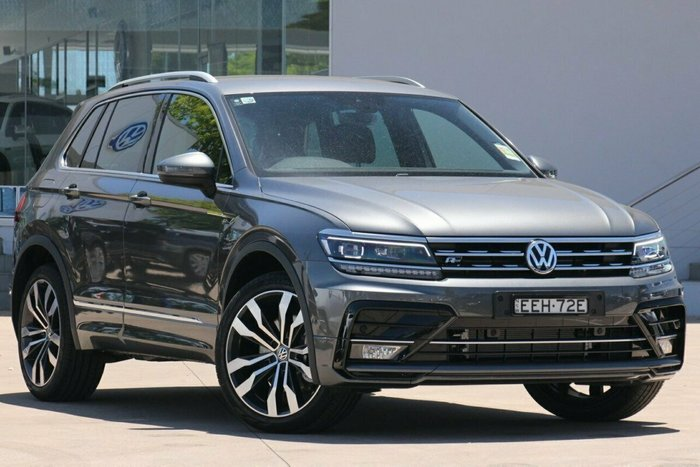 2019 Volkswagen Tiguan 162TSI Highline 7Spd DSG Wagon MY19 4WD Indium Grey Metallic