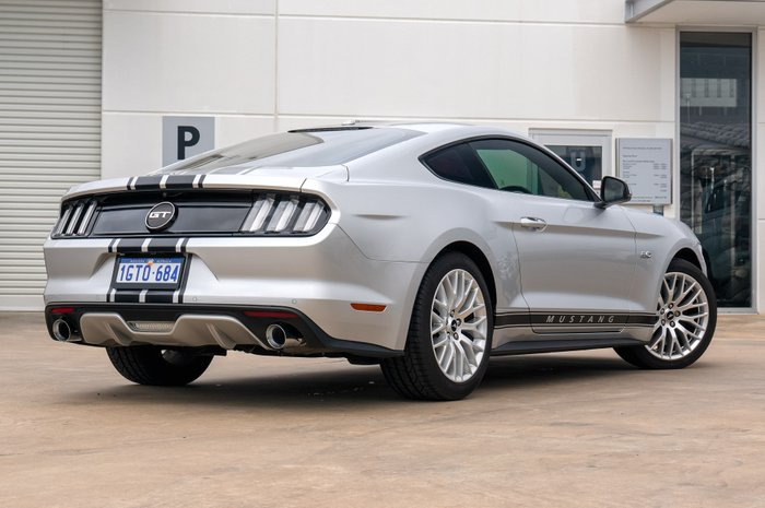 2016 Ford Mustang GT FM SILVER OR CHROME
