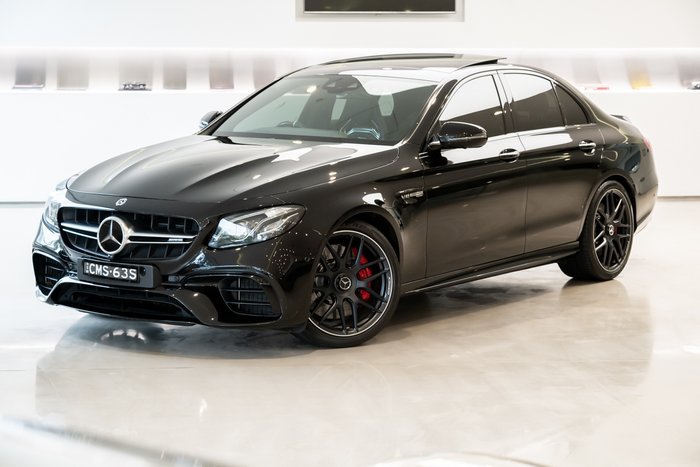 2018 Mercedes-Benz E-Class E63 AMG S W213 Four Wheel Drive BLACK