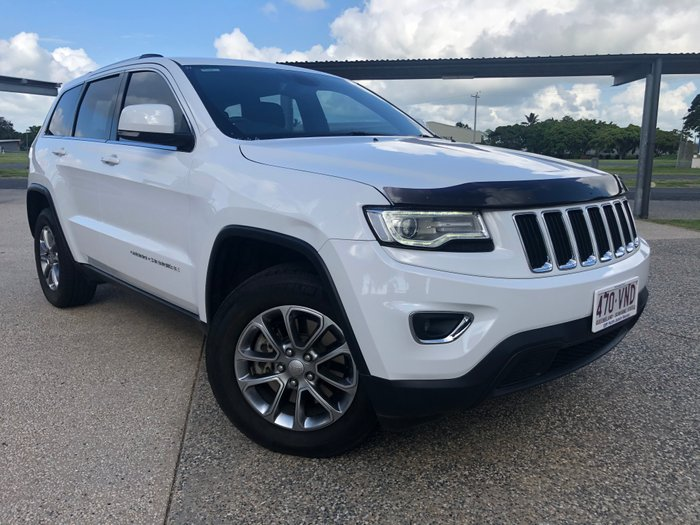 2015 Jeep Grand Cherokee Laredo WK MY15 WHITE