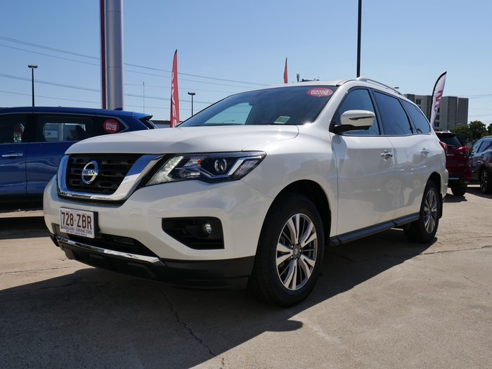 2019 NISSAN PATHFINDER PET AUTO 2WD ST-L MY19 IVORY PEARL