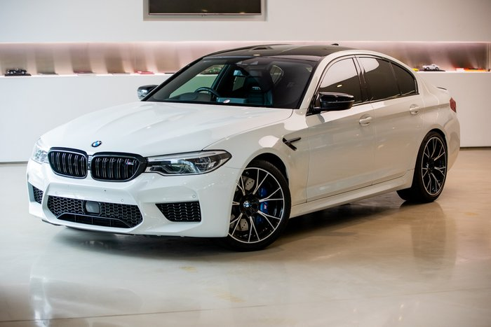 2018 BMW M5 Competition F90 4X4 On Demand WHITE