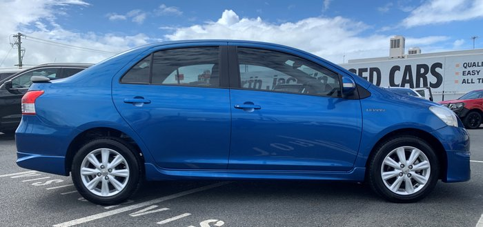 2011 TOYOTA YARIS YRX NCP93R MY11 YRX Sedan 4dr Auto 4sp 1.5i BLUE