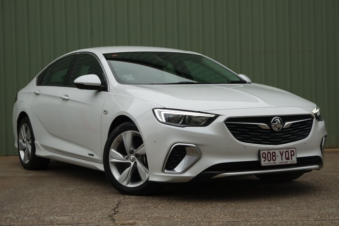2017 Holden Commodore RS-V ZB MY18 AWD WHITE