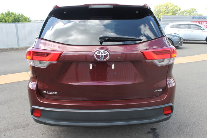 2017 Toyota Kluger GXL GSU55R Four Wheel Drive RED
