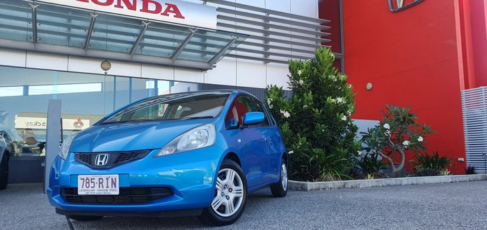 2010 Honda Jazz GLi GE MY11 BLUE