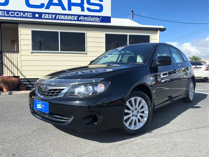 2009 Subaru Impreza R G3 MY09 Four Wheel Drive BLACK