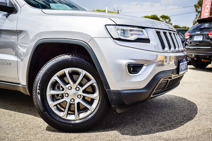 2016 Jeep Grand Cherokee Laredo WK MY15 4X4 Dual Range SILVER OR CHROME