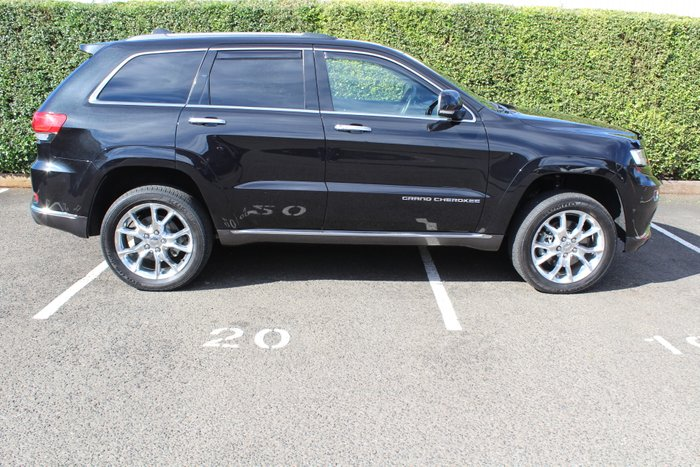 2014 Jeep Grand Cherokee Summit WK MY14 4X4 Constant BLACK