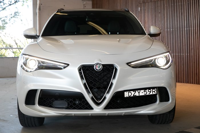 2019 Alfa Romeo Stelvio Quadrifoglio 4X4 On Demand Trofeo White