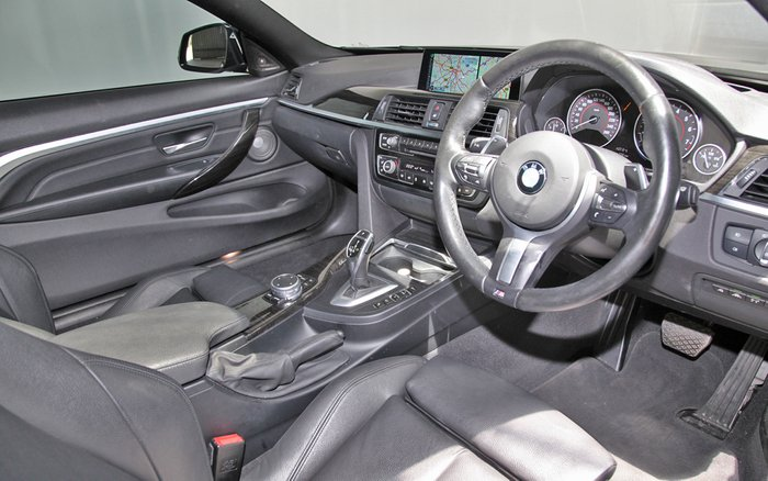 2016 BMW 4 Series 430i Sport Line F32 BLACK