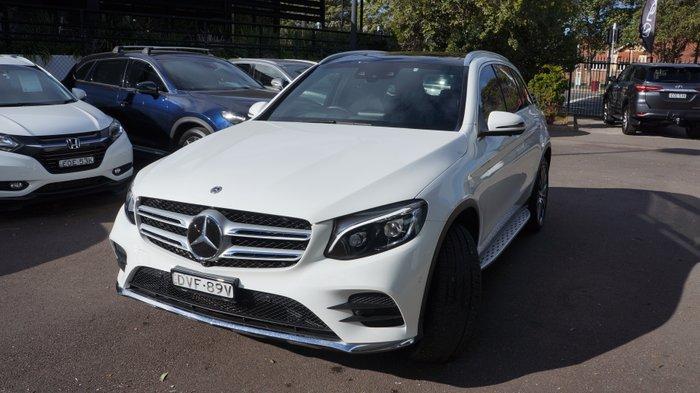 2017 Mercedes-Benz GLC-Class GLC250 C253 Four Wheel Drive WHITE