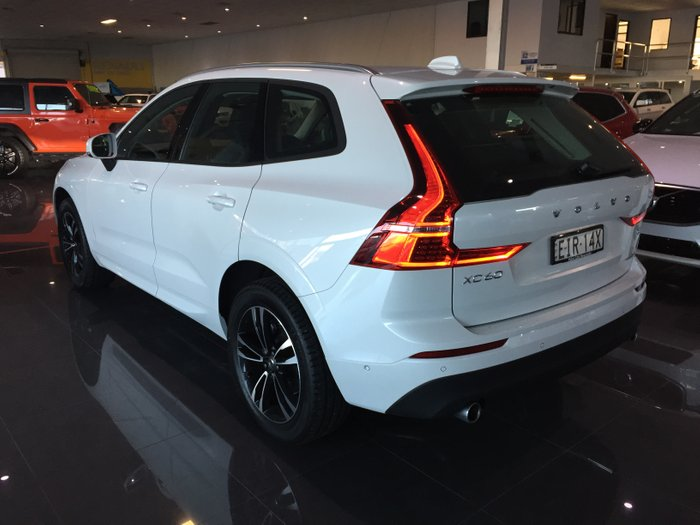 2020 Volvo XC60 T5 Momentum MY20 Four Wheel Drive CRYSTAL WHITE