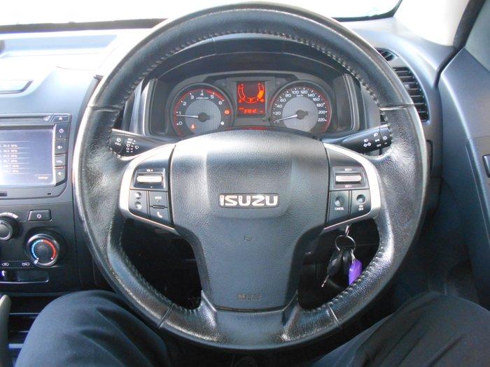 2018 Isuzu D-MAX SX High Ride MY18 WHITE
