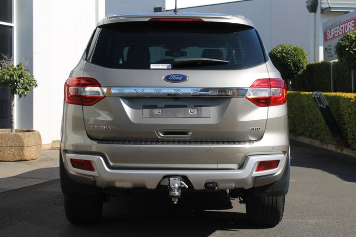 2016 Ford Everest Trend UA 4X4 Dual Range GOLD