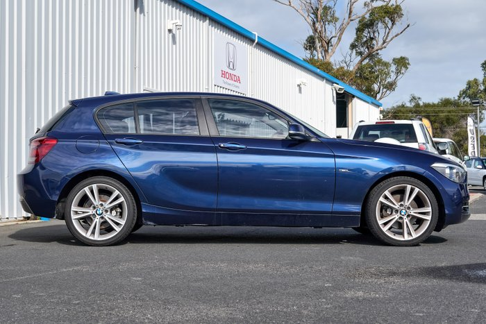 2015 BMW 1 Series 125i Sport Line F20 MY15 BLUE