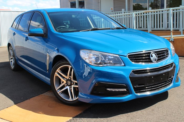 2014 Holden Commodore SV6 VF MY14 BLUE
