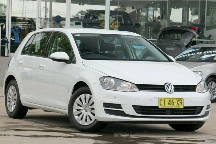 2016 Volkswagen Golf 92TSI 7 MY16 WHITE