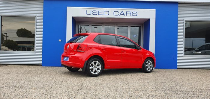 2013 Volkswagen Polo 77TSI Comfortline 6R MY13.5 RED